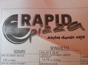 C-Rapid Pizza Marosvásárhely