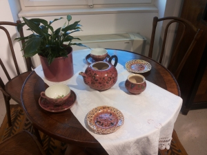 Rózsaszín teázás