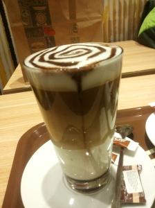 Gingerbread latte Macchiato - McDonalds